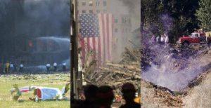 9/11 attack sites: Pentagon, WTC, and Shanksville