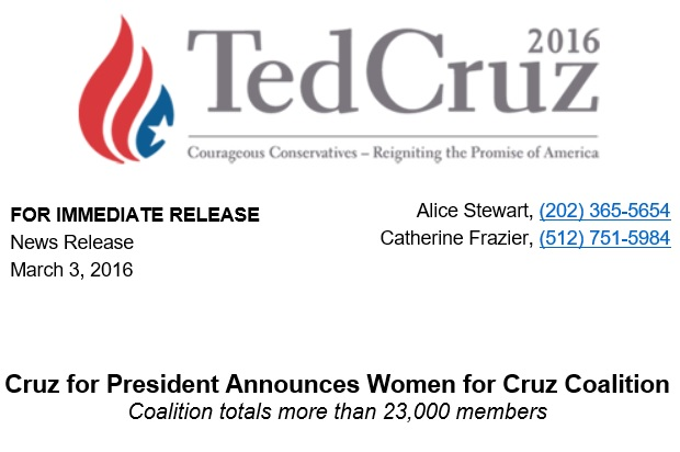Women for Cruz