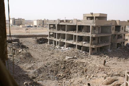 Iraq Army barracks Mosul March, 23, 2008.
