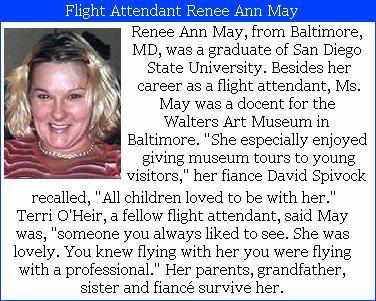 Flight Crew: American Airlines Flight 77 | 9/11 Families ...