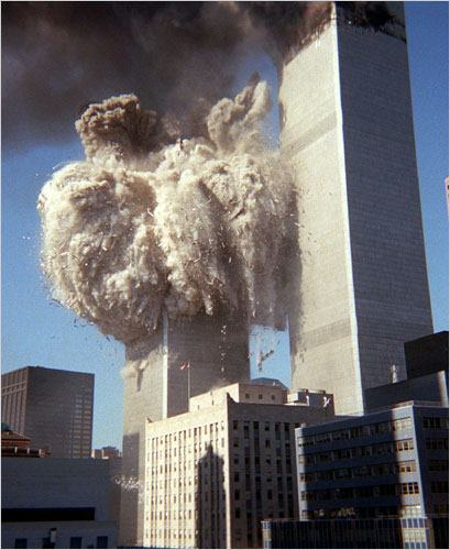 South Tower Collapses 9:59 a.m.